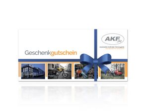 Item Image AKF gift voucher for printing over 15 euros