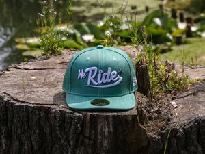 Artikelbild Snapback WE RIDE - Farbe Patinagrün