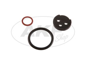 Item Image Gasket set for fuel tap (fuel tap) - for Simson AWO-Touren, AWO-Sport, MZ BK350, RT125 / 0, RT125 / 1, RT125 / 2, RT125 / 3