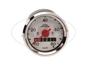 Item Image Tachometer without indicator light, with logo, 80km / h version