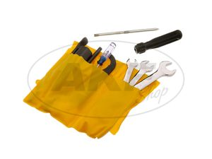 Item Image Tool set, 12 parts for moped and motorcycle