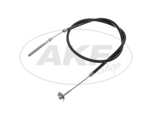 Item Image Brake cable, rear, black, outer thread - Simson KR51 / 1 Schwalbe