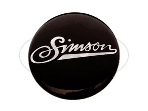 "Item Image Button ""Simson"" soft writing, Ø25 mm"