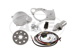 Set: Elektrostarter, Anlasser für PVL+ EMZA-Zündungen - Simson S51, S70, S53, S83 -  Bild 1