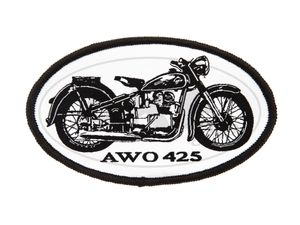 "Item Image Patch, Patch ""AWO 425"" black / white"