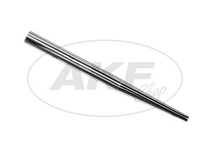 Item Image Exhaust one-piece, rear straight, 106 cm long - for MZ TS125, TS150