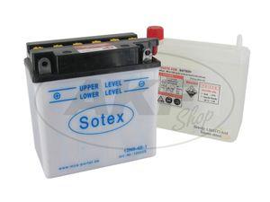 Item Image Battery 12V 9Ah SOTEX (with acid) - MZ ETZ