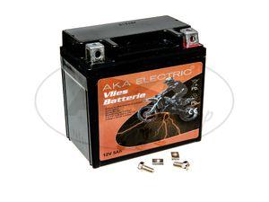 Item Image Battery 12V 5Ah AKA (fleece - maintenance free) - for MZ ETZ 125, ETZ 150