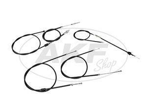 Item Image Set: Bowden cable in black - Simson SR50, SR80