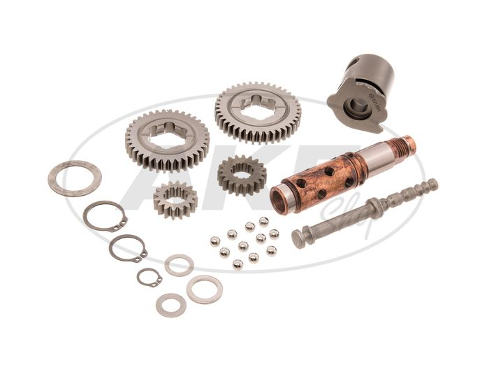 Conversion kit to 4-speed gearbox - for Simson S51, KR51 / 2 Schwalbe, SR50, S53 - Image #1