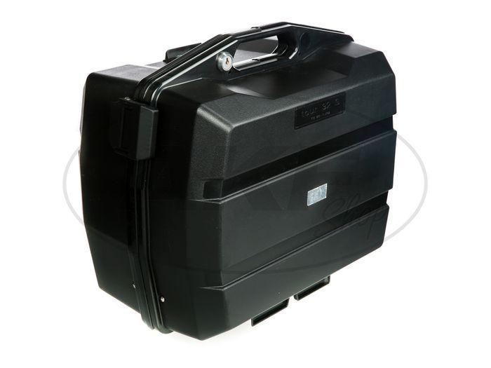 koffer seitenkoffer f r motorrad schwarz 32l. Black Bedroom Furniture Sets. Home Design Ideas