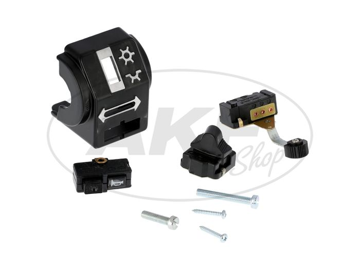 Switch combination without light horn and wiring harness - Simson S51, S70, S53, S83, SR50, SR80 - MZ ETZ - Image #1