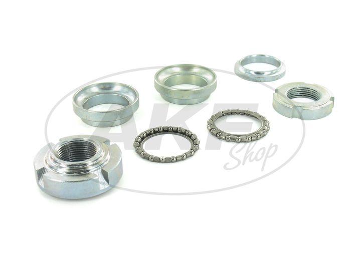 Steering bearing set, 7-piece for Simson S51 Enduro - Image #1