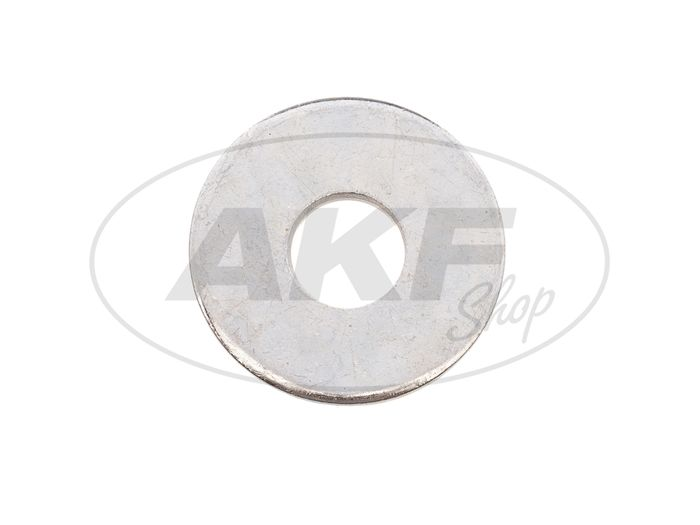 Disc - 6,4x18x1,6 Car body washers, galvanized, large outer diameter, DIN 9021 - Image #1