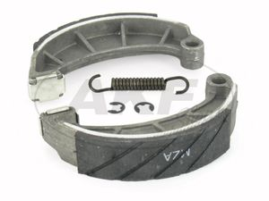 "Item Image Set: Brake shoes ""SIMSON SPORT"" with snap rings, spring and interchangeable liner"