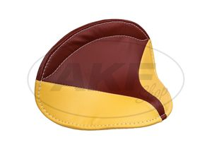 Item Image Saddle cover SR1, SR2, SR2E (seat surface yellow, side red)