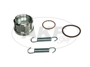 Item Image Set Kalotte with bits and pieces for Manifolds with ball flange
