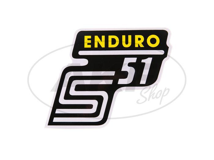 """Kleinkritzug - """"S51 Enduro"""" yellow - Image #1"""