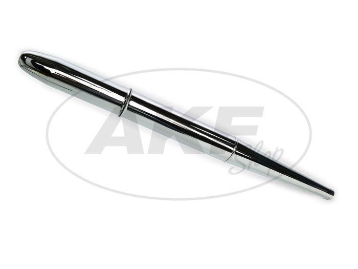 Exhaust - cigar form (pointed bag) - Simson KR51 / 1 Swallow, SR4-2 Star, SR4-3 Sperber, SR4-4 Habicht - Image #1
