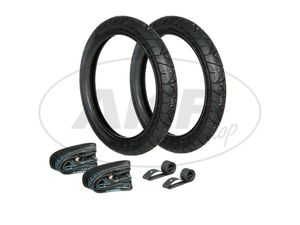 Item Image Set: 2x Tire 2.75 x 16 Heidenau K55 + 2x tubing + 2x rim tape