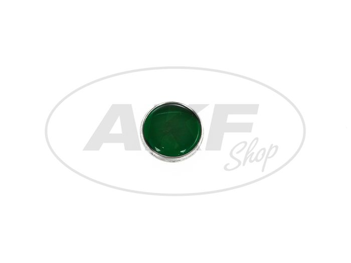 Control glass green - for Simson KR51 / 1 Schwalbe, AWO, RT125, EMW, BK350 - Image #1