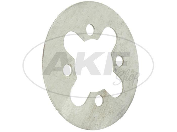 Kupplungslamelle 1,9 mm - für Simson S50, KR51/1 Schwalbe, SR1, SR2, SR2E, SR4-1 Spatz, SR4-2 Star, SR4-3 Sperber, SR4-4 Habicht, DUO 4/1 - Bild #1