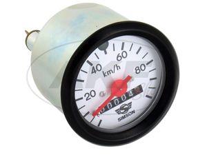 Tachometer Ø60mm - 12V - SIMSON TS50, SC50, S53, S51, S70 -  Bild 1
