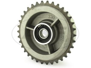 Item Image Rear chain wheel driver 34 tooth with camp DIN625-6203 C3 2Z