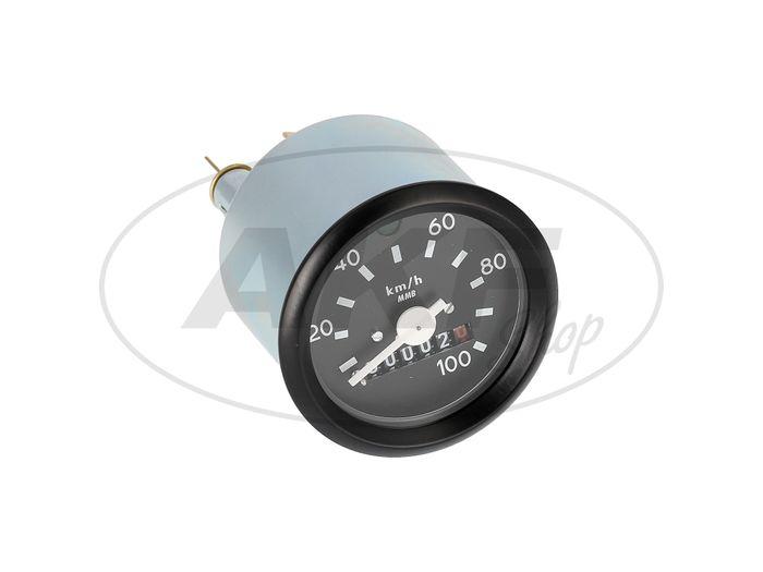 Tachometer mit Blinkkontrolle, ohne Logo, 100km/h-Ausführung - Bild #1
