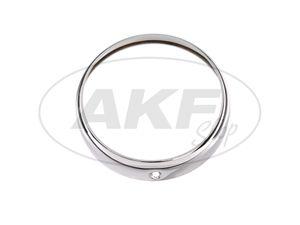 Item Image Headlight ring (Ø130 / 157mm) chrome - for MZ RT125 - IWL