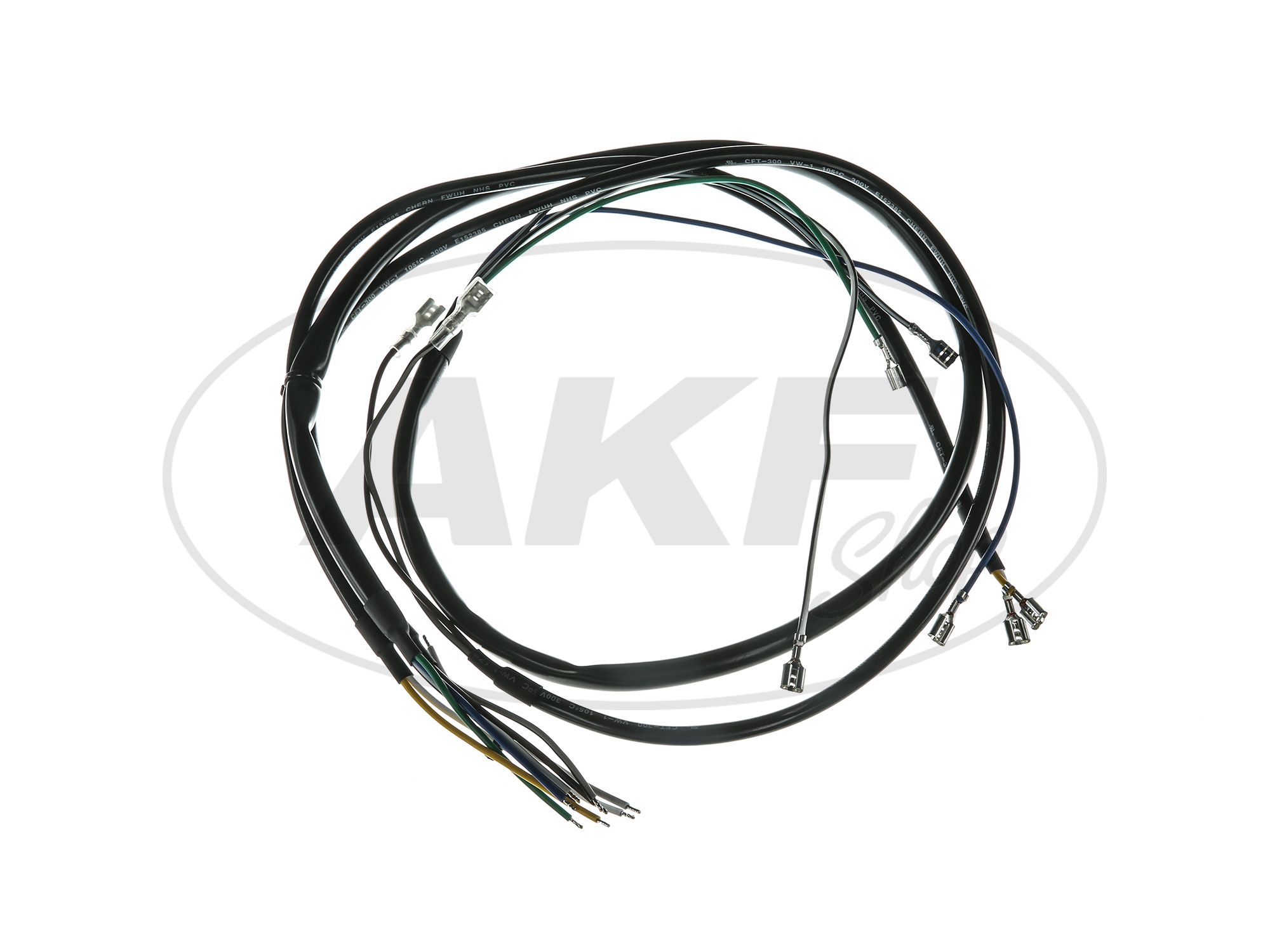 Wiring Harness Basic Equipment Without Diagram For Simson Television Image 5 S50
