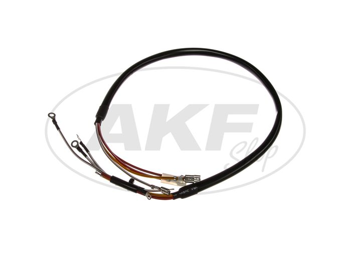 Wiring harness for base plate SLPZ, interrupter. - for Simson S51, KR51 / 2 swallow - Image #1