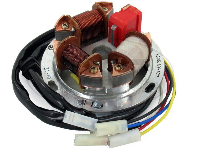 Grundplatte 8305.1/4-100, 6V Elektronik (35/21W Bilux) - Simson S51, S70 - Bild #1