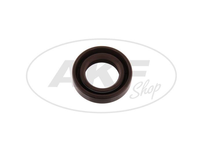 Shaft sealing ring 17x28x07, brown - for Simson S50, KR51 / 1 Swallow, SR4-1 Sparrow, SR4-2 Star, SR4-3 Sperber, SR4-4 Habicht - Image #1