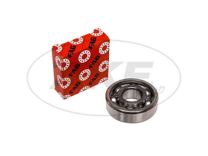 Ball bearing 6303 C3, crankshaft li./re. - Simson S50, KR51 / 1 Swallow, SR4-2 Star, SR4-3 Sperber, SR4-4 Hawk, AWO S - Image #1