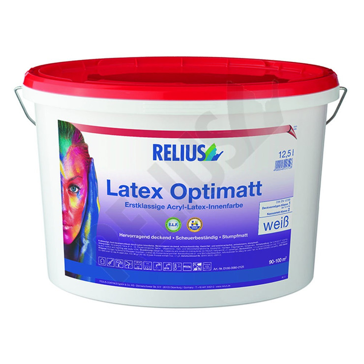 Relius Latexfarbe Optimatt Bild 1