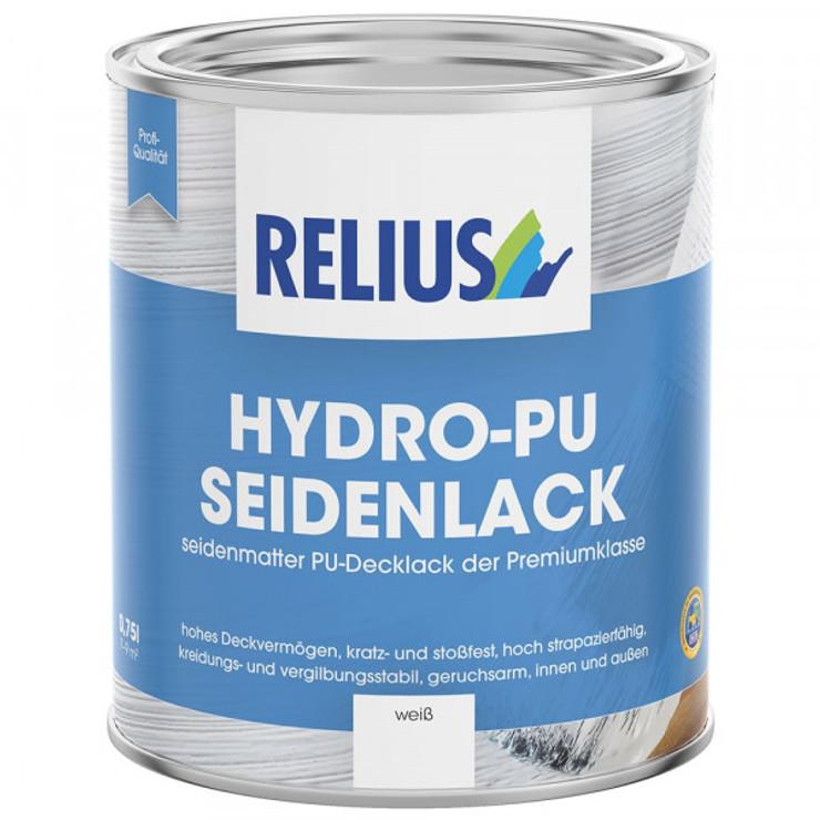 Relius Hydro-PU Seidenlack weiß