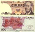 Polen 143d bankfrisch 1982 100 Zlothy
