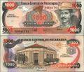 Nicaragua Pick-Nr: 157 bankfrisch 1988 5.000 Córdobas