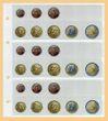 10x KOBRA-Euro-Münzenblatt Nr. FE24