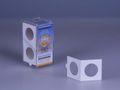 Box à 50 coinholdersself-adhesive32,5 mm