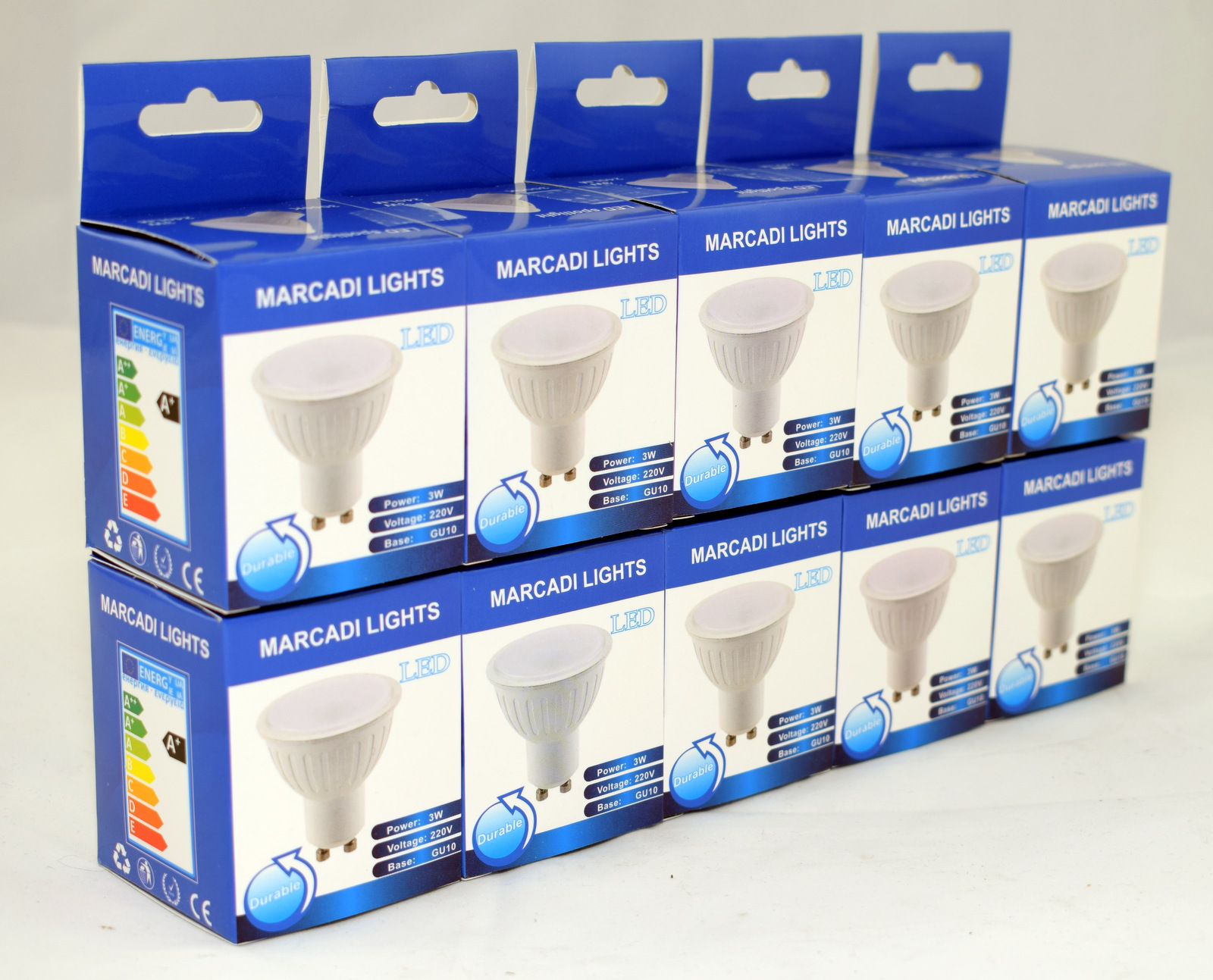 luminea highpower led lampe
