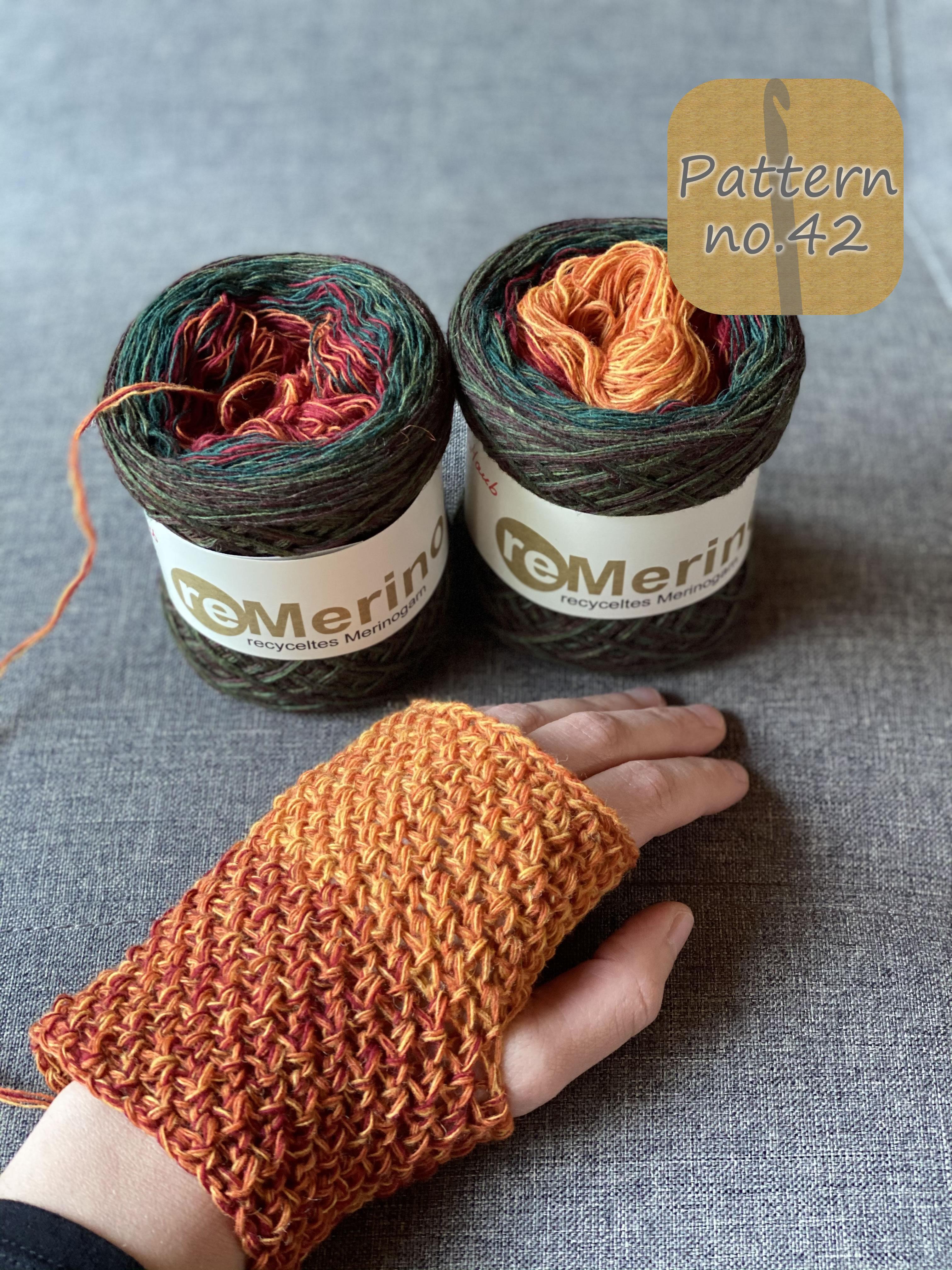 ReMerino Farbverlaufswolle recycelt Herbstlaub