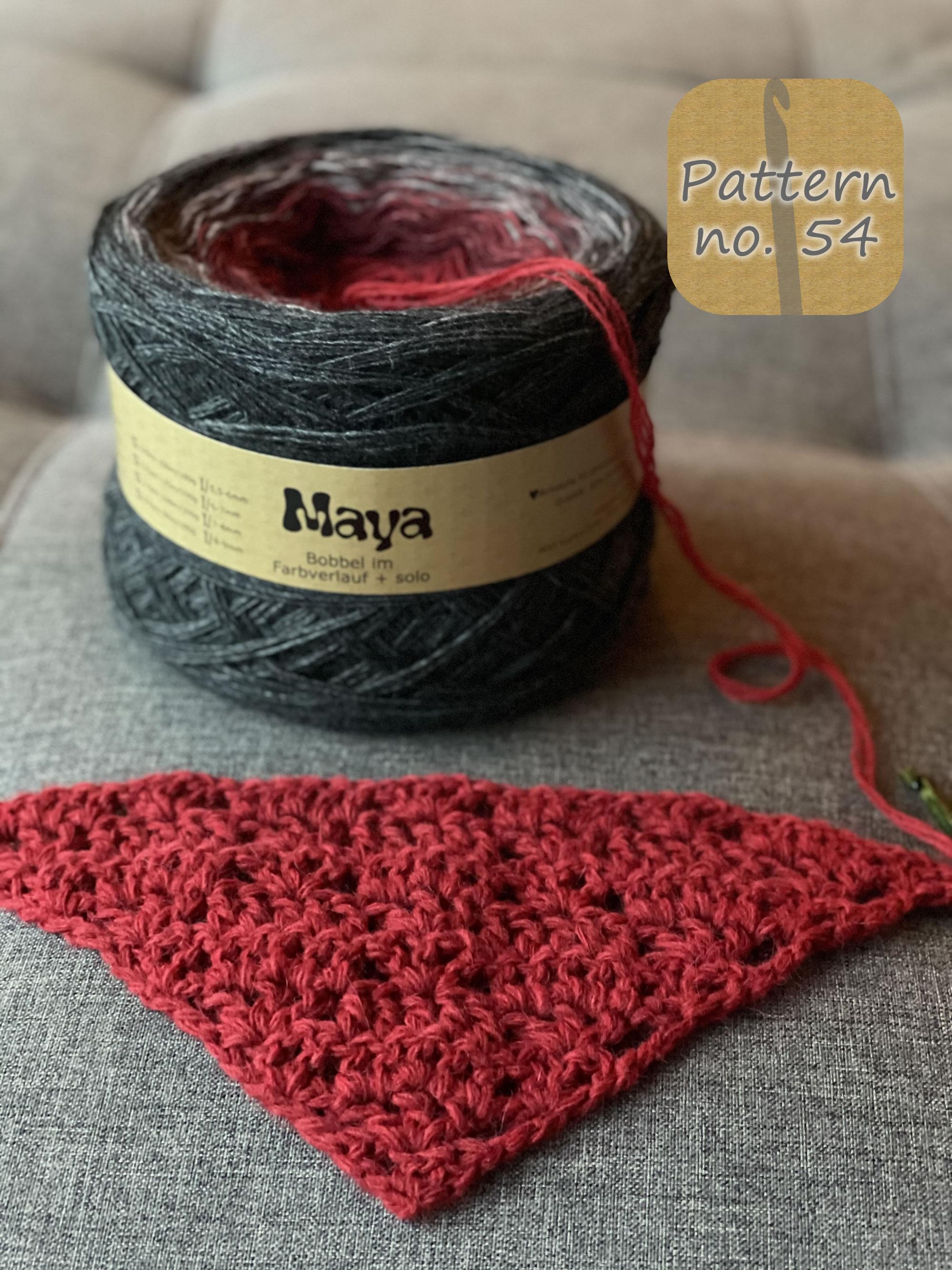 Maya Alpaca Wolle handgewickelt im Farbverlauf 976