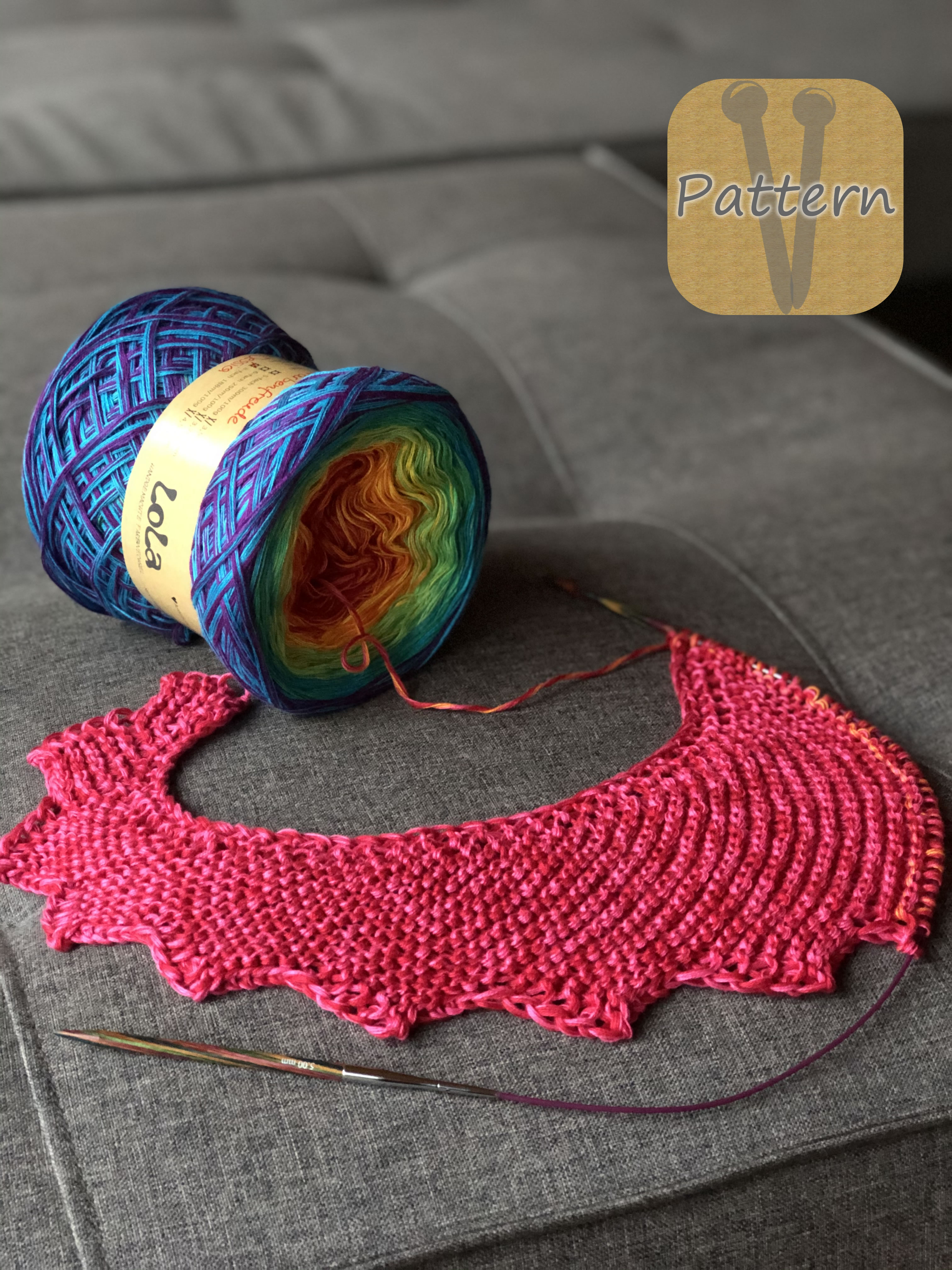 LoLa Farbverlaufsgarn Bobbel 8Fb: Farbenfreude
