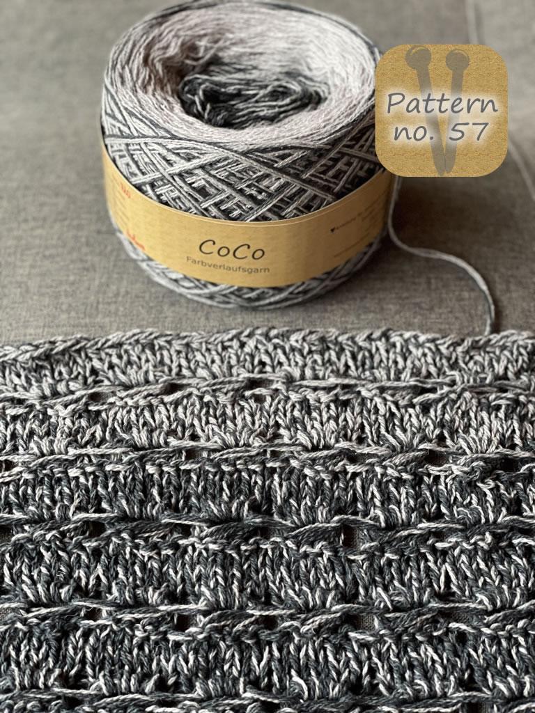 CoCo Farbverlauf Wolle Seide Fb. 720