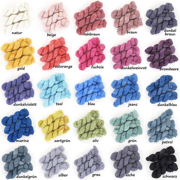 Merinowolle extrafine Colorline