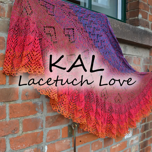 KAL LoLa 4fach Lacetuch Love