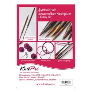 Knit Pro Symfonie Holz Chunky-Set