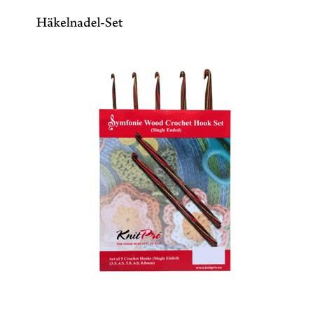 Knit Pro Symfonie Holz Häkelnadel-Set